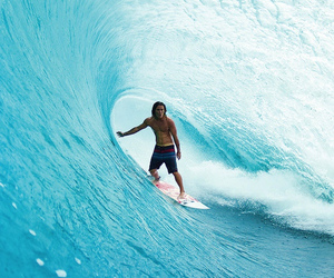 ocean, summer, and surf image