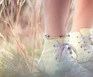 converse, pastel, and shoes image
