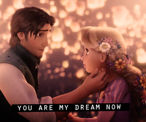 love, Dream, and tangled image