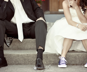 converse, girl, and couple image