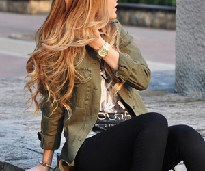 beautiful, bracelet, and jeans image