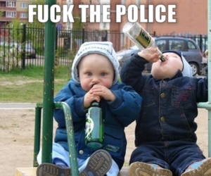 alcohol, caption, and funny image