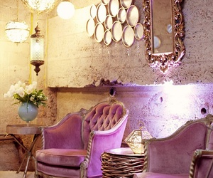 pink, home, and decor image