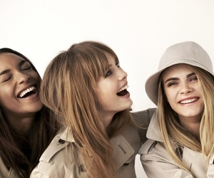 model, Burberry, and cara image