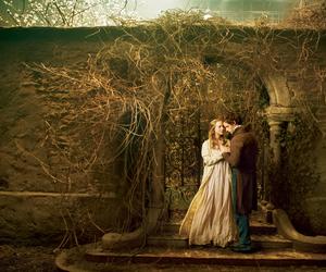 les miserables, eddie redmayne, and amanda seyfried image