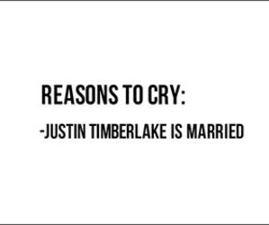 justin timberlake, cry, and married image
