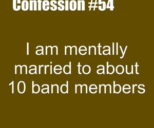 band, confession, and quote image