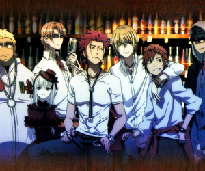 anime, k project, and k-project image
