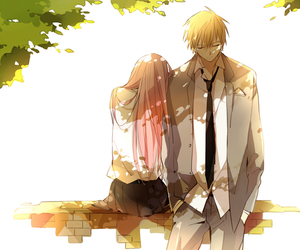 anime, couple, and kuroko no basket image