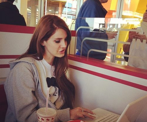 lana del rey, food, and lana image