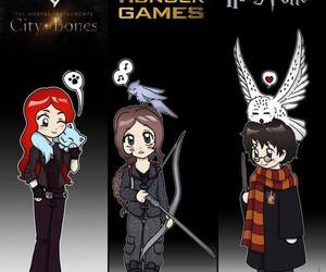 harry potter, books, and thg image