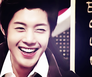kim hyun joong, kpop, and smile image