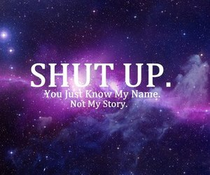 galaxy, true, and shutup image
