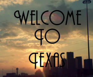 Dallas, Texas, and welcome image