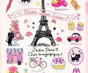 paris, wallpaper, and pink image