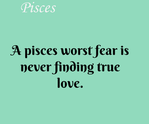 pisces and love image