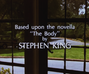 books, stand by me, and Stephen King image