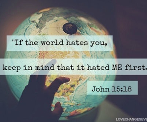 bible, god, and hate image