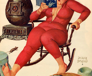 1950, hilda, and Pin Up image