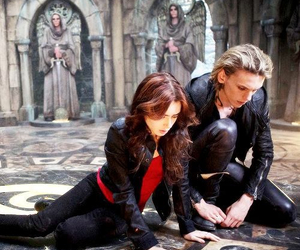 city of bones, Jamie Campbell Bower, and the mortal instruments image