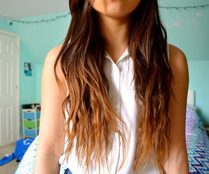 awesome, girl, and hair image