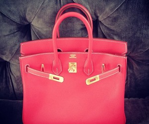 bags, pink, and shopaholic image