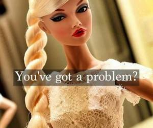 ?, barbie, and problem image