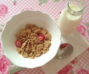 brunch, lunch, and milk image