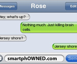 jersey shore, smartphowned, and funny image