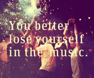 music, quotes, and party image