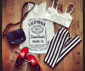style, outfit, and california image