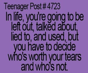 quote, life, and teenager post image