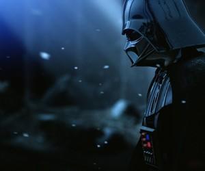 star wars, darth vader, and dark side image