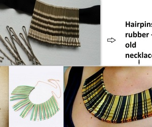 classy, diy, and necklace image