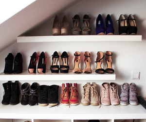 ankle boots, boots, and colorful image