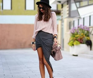 beautiful girl, blogger, and clothes image
