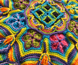 crochet and mandala image