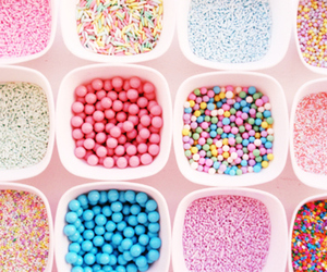 candy, sweet, and pink image