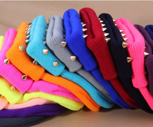 beanies, colors, and cool image