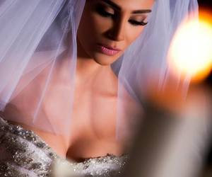 wedding, bride, and beauty image
