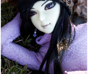 black, doll, and dolls image