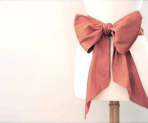 beautiful, pink, and bow image