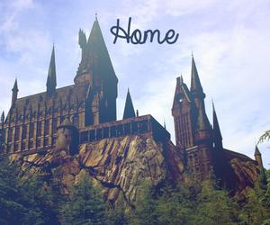 childhood, harry potter, and hogwarts image