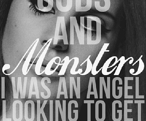 angel, evil, and monsters image