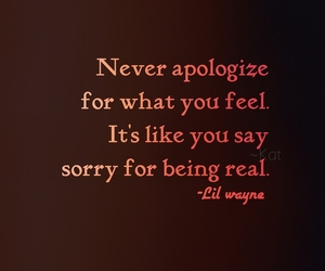 never and sorry image