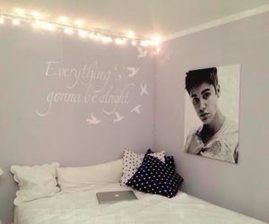 room, justin bieber, and bedroom image