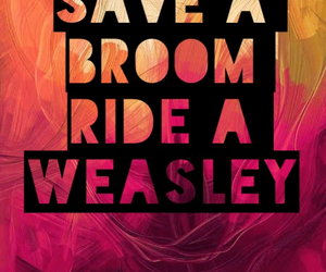 broom, funny, and harry potter image