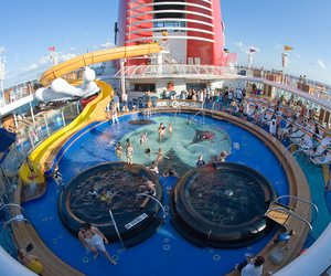 pool, water, and cruise image
