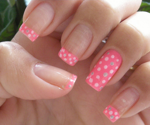adorable, dots, and nail art image