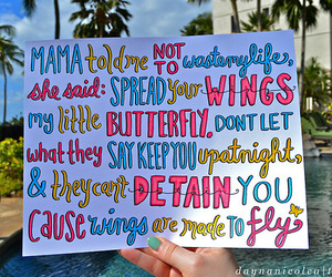 little mix, wings, and quotes image